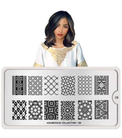 Stamping Arabesque 08