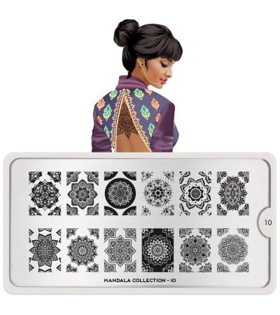Stamping Mandala 10
