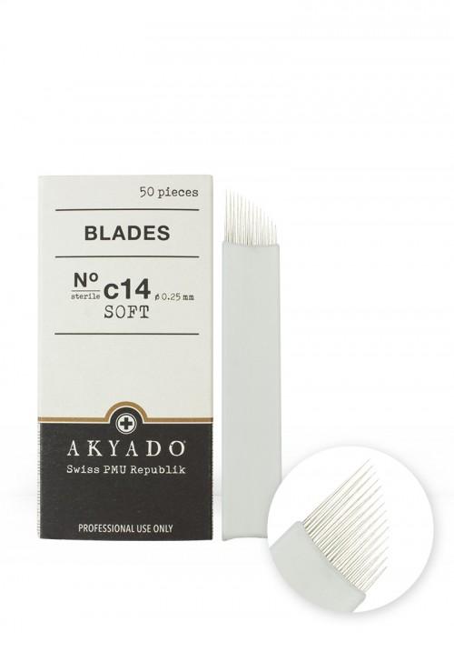Blades N°C14 soft · 50 pcs