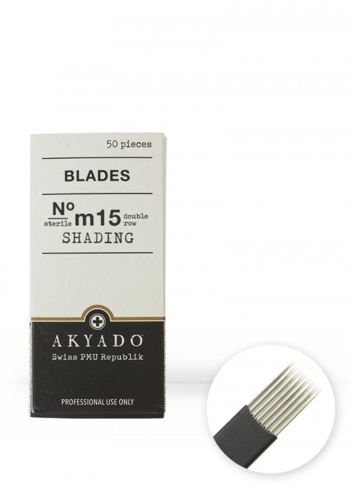 Blades N°m15 soft · 50 pcs