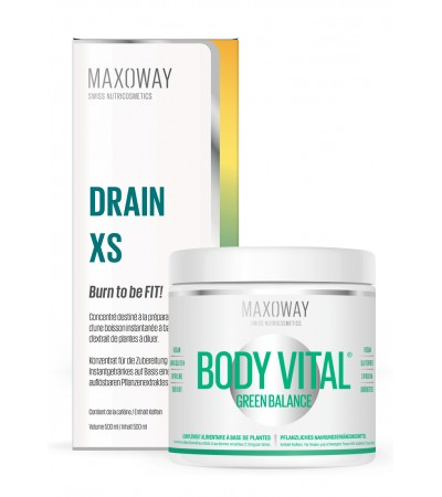 Pack DRAIN XS et Body vital