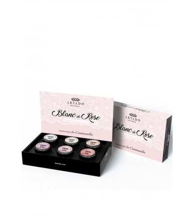 Gel coloré Créationnelles Collection CreaBOX Blanc de Rose · 5g