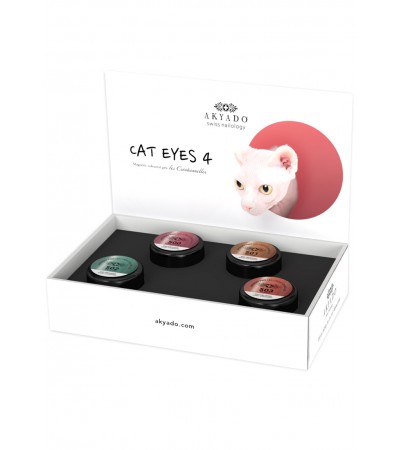 Collection Gel Coloré CréaBOX Cat Eyes 4 · 5g