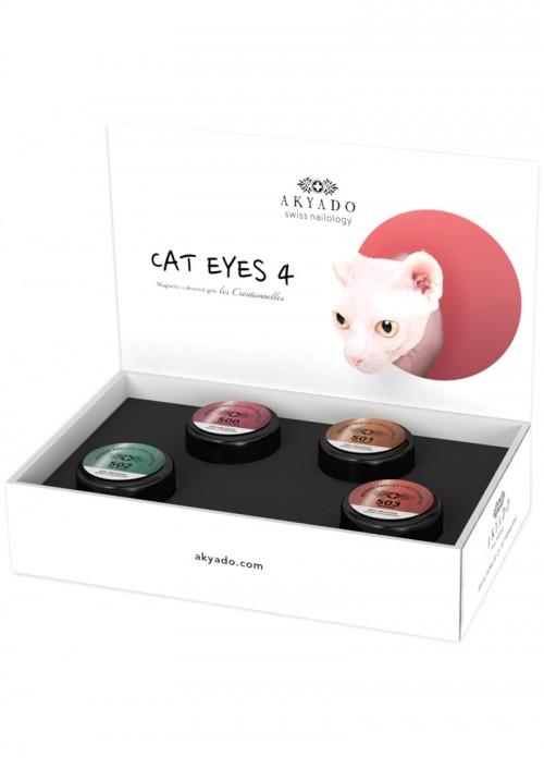 Collection Gel Coloré CréaBOX Cat Eyes 4 · 5g