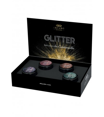 Gel coloré Créationnelles Collection CréaBOX  Glitter · 5g