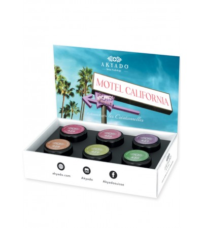 Gel coloré Créationnelles Collection CreaBOX Motel California · 5g