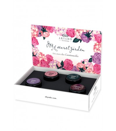 Gel coloré Créationnelles Collection CréaBOX  My Secret Garden · 5g