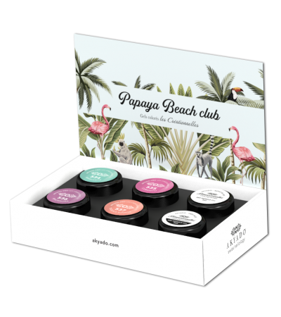 Gel coloré Créationnelles Collection CreaBOX Papaya Beach Club · 5g
