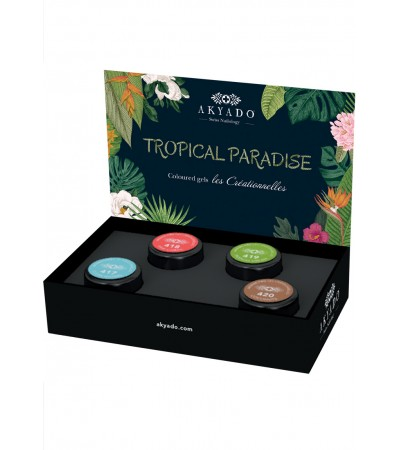 Gel coloré Créationnelles Collection CréaBOX Tropical Paradise · 5g