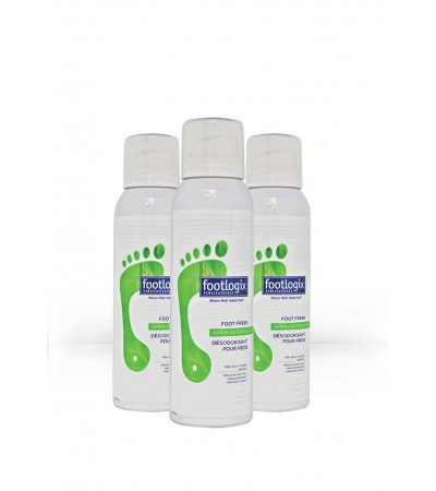 Foot Fresh Deodorant Spray 3x125ml